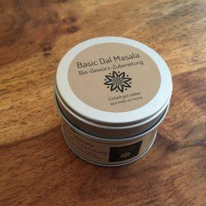 Basic Dal Masala Bio-Gewürz-Zubereitung schmeckt köstlich in Linsen und Dalgerichten