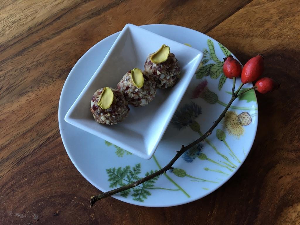 Cranberry Energiekugeln Rezept von Ayurveda at Home salzburg