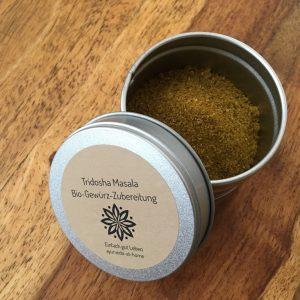 Tridosha Masala Bio-Gewürz-Zubereitung -Ayurveda at home - Shop Ines Steindl