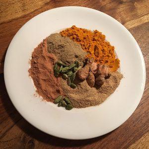 Golden Finger Masala Bio-Gewürz-Zubereitung onlineshop für Gewürzmischungen für Ernährung nach ayurveda