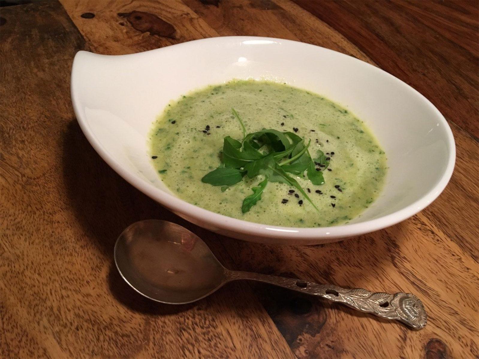 ayurveda suddenrezept von ayurveda at home GREEN SOUP VARIATION