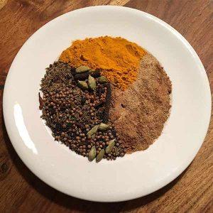 Gewürze online kaufen ayurveda Shop Salzburg Tridosha Vegetable Masala Bio-Gewürz-Zubereitung von ayurveda at home salzburg