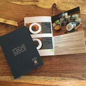 ayurveda rezepte Broschüre - Basisrezepte der Ayurvedaküche von ayurveda at home