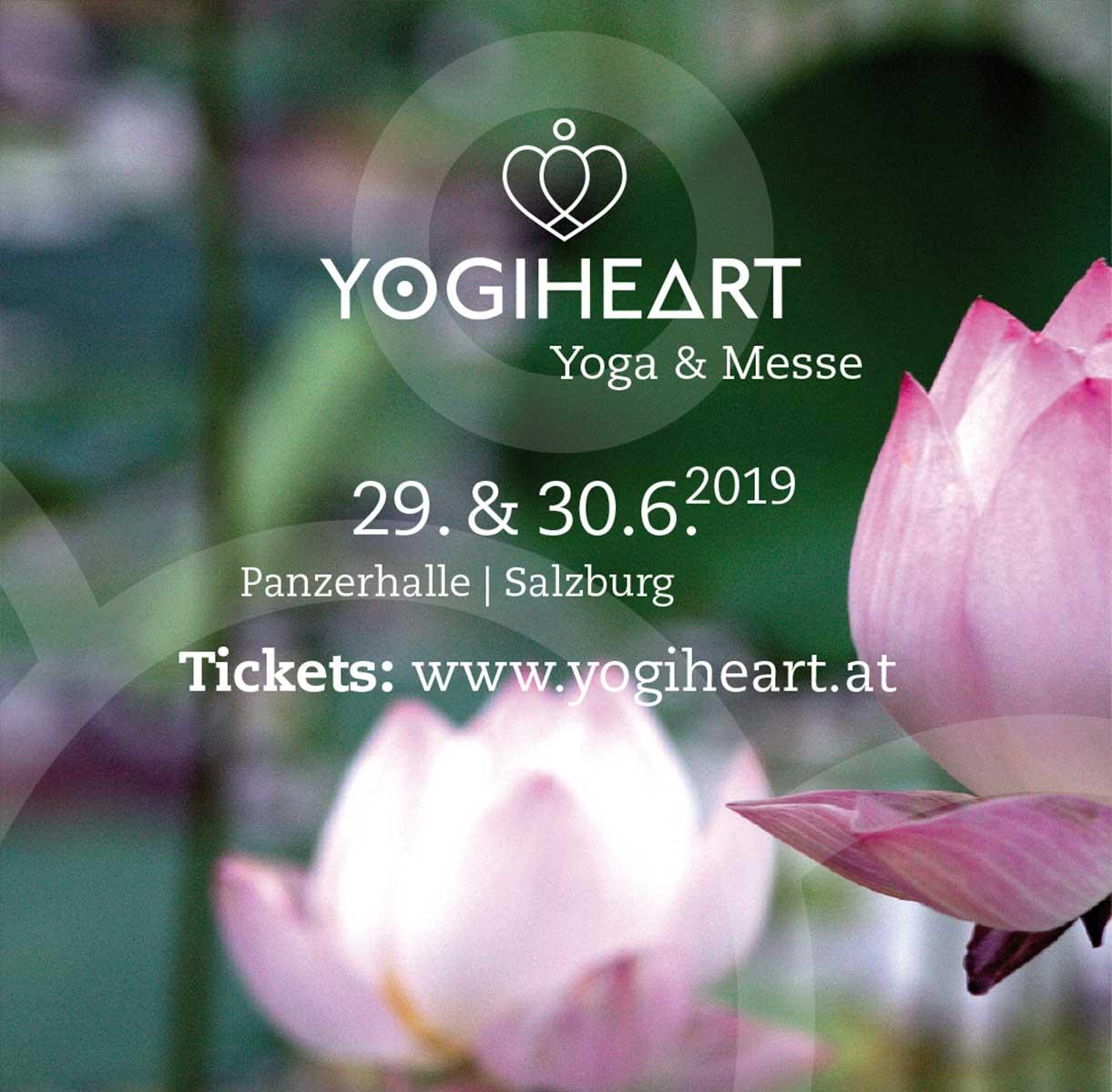 ayurveda at home ist bei der Yogiheart Messe in Salzburg dabei!